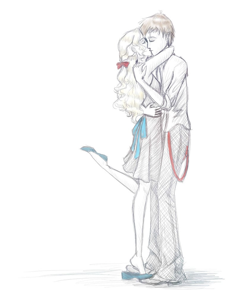 Neville Longbottom and Luna Lovegood | Harry Potter Fan Art