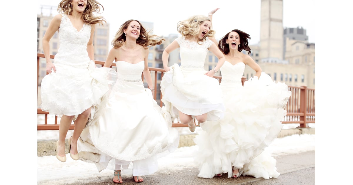 Best Friend Wedding Dress Photo Shoot  Popsugar Love -1449