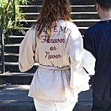 A jacket with a message is the best kind of jacket.