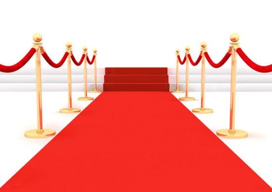 Roll Out the Red Carpet