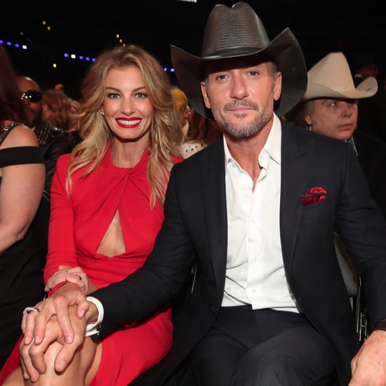 Faith Hill and Tim McGraw at the 2017 Grammys