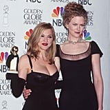 Madonna and Nicole Kidman also shared the spotlight at the show.