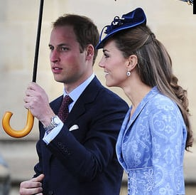 Kate Middleton Pictures at Queen's Birthday With Prince William