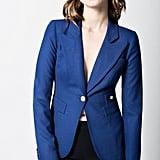 Smythe Duchess Blazer in Cobalt ($595)