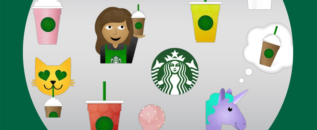 The Starbucks-Themed Emoji You've Always Wanted Are Finally Here