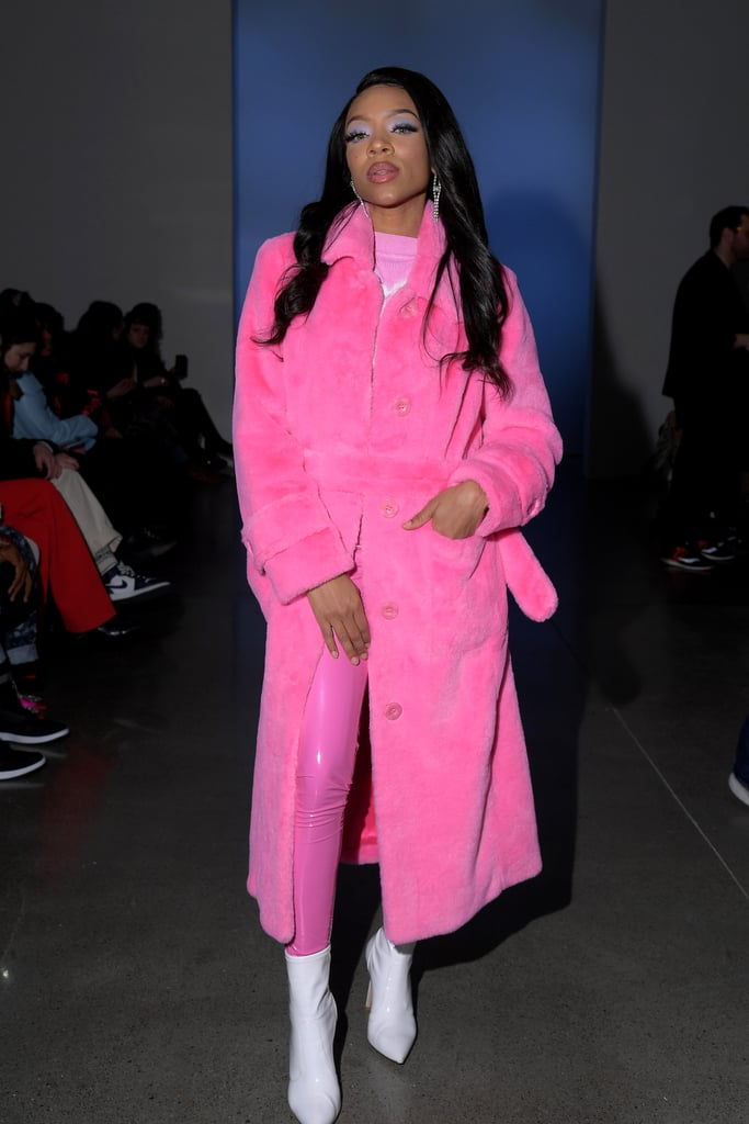 Lil Mama at the Kim Shui Fall 2020 Show