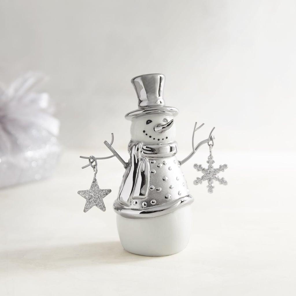 Ceramic Snowman Figurine ($10)