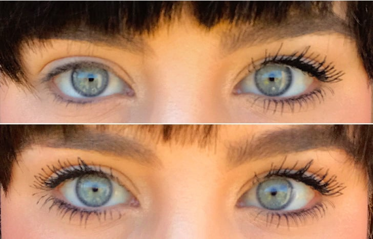 ... the Carbon Black hue in inky and saturated. It pops against my blue eyes and nicely complements all eye shadow colors. The mascara also stays on ...
