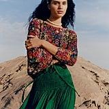Bouquet Eyelash Sweater