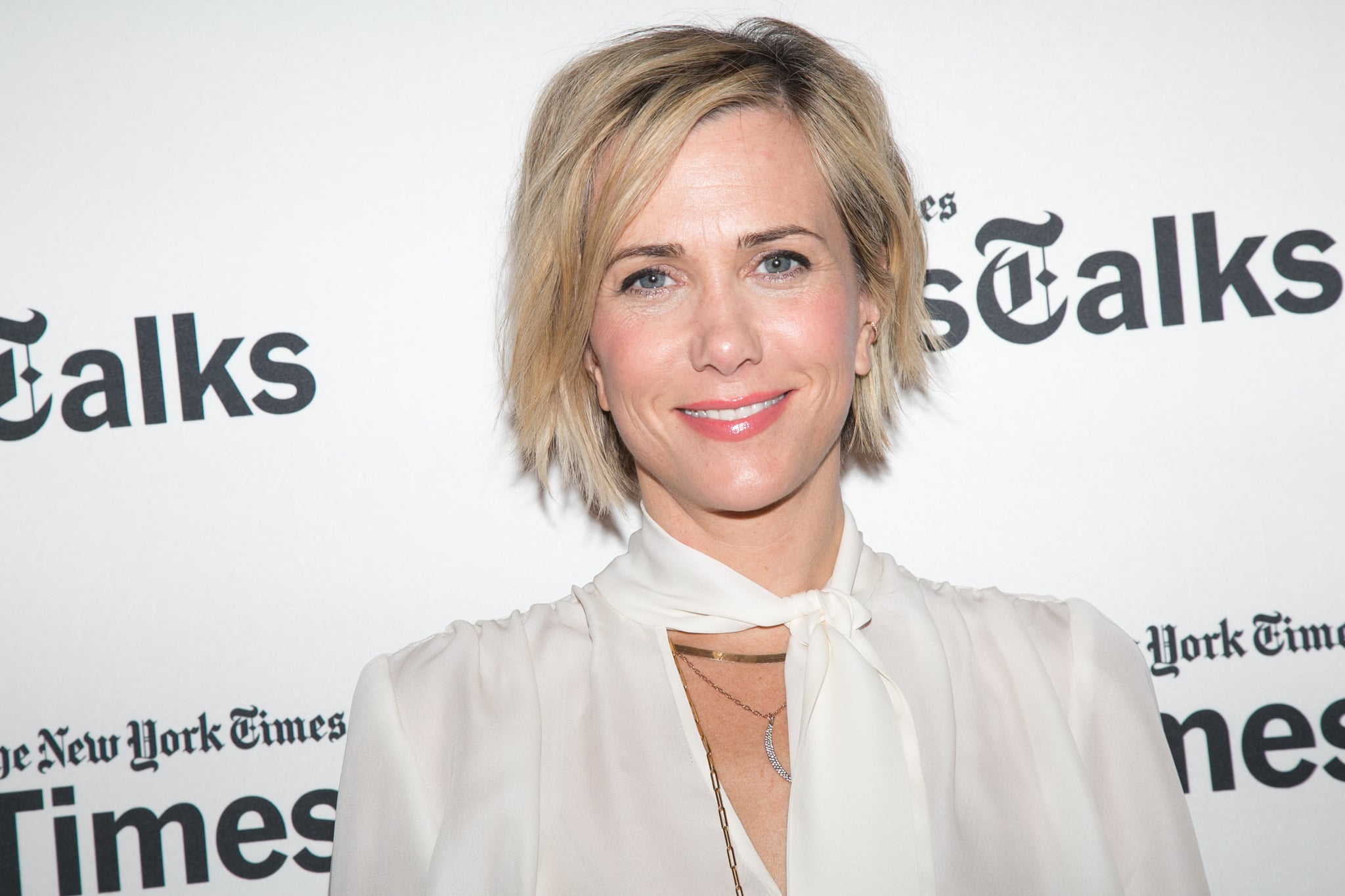 NEW YORK, NY - APRIL 28:  Kristen Wiig attends TimesTalks Presents An Evening With Kristen Wiig And Shira Piven at Times Center on April 28, 2015 in New York City.  (Photo by Nomi Ellenson/FilmMagic)