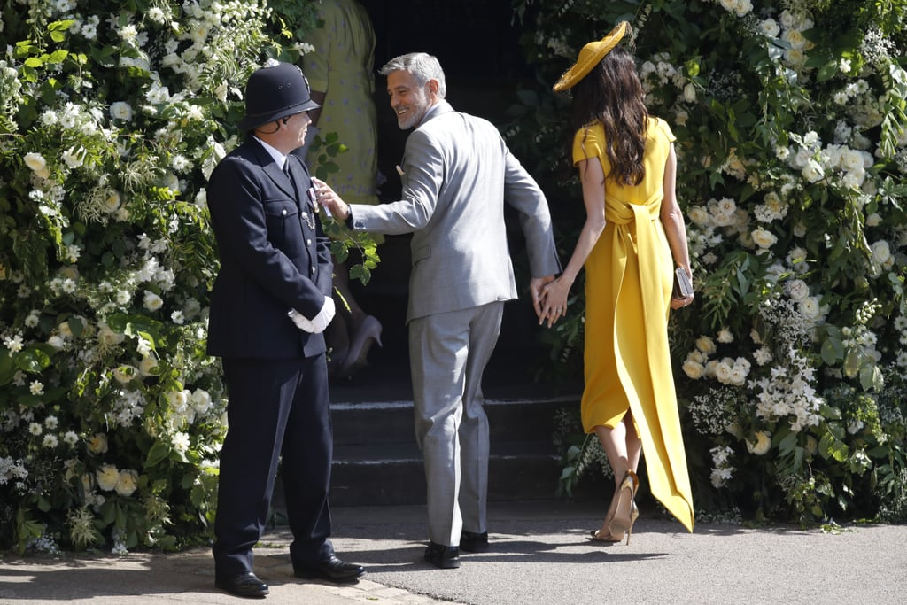 George and Amal Clooney at the Royal Wedding George-Amal-Clooney-Royal-Wedding-2018-Pictures