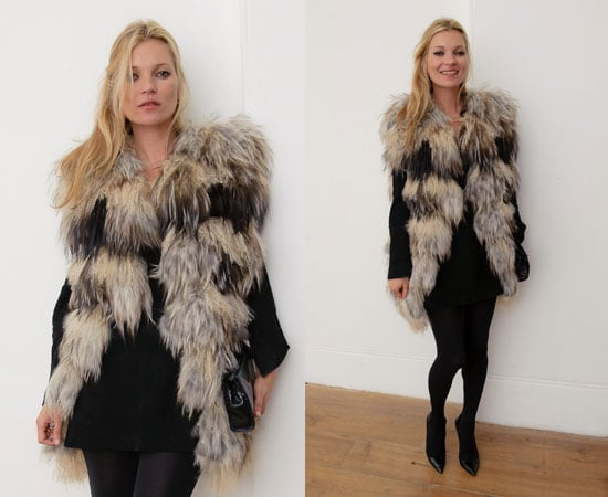 Kate Moss at KM3D-1 Private Viewing in London