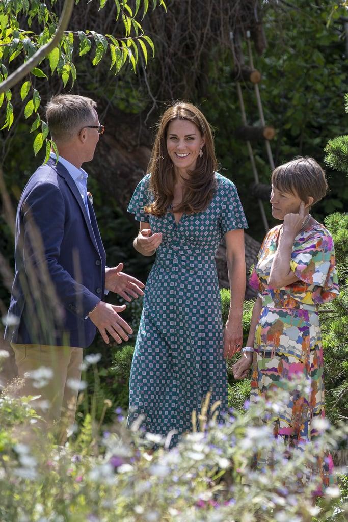 Kate Middleton in Sandro Dress July 2019