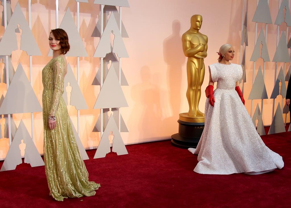Oscars 2015 Red Carpet Dresses