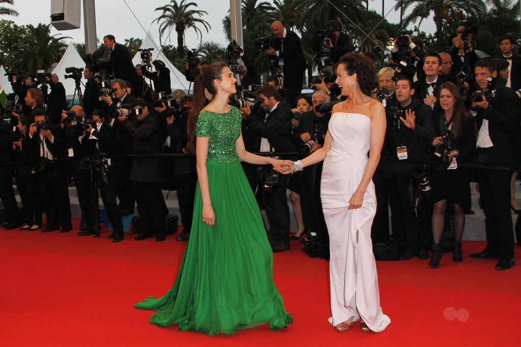 When They Shared a Laugh on the Red Carpet at Cannes