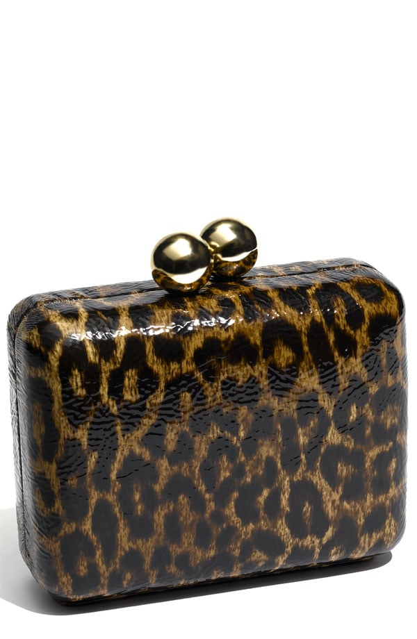 Steven by Steve Madden Leopard Box Clutch ($88)