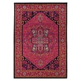 Bordered Cross Rug