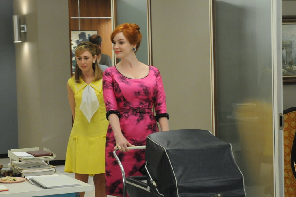 Stephanie Drake As Meredith And Christina Hendricks As Joan Harris