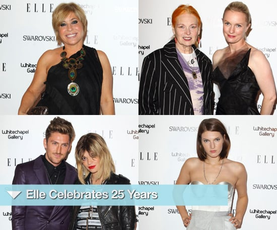 Photos of Elle Magazine's 25th Celebration