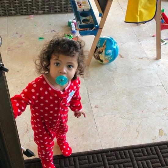 Dwayne Johnson's Daughter on Christmas Day