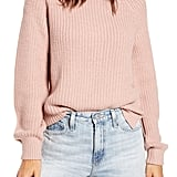 Vero Moda Shaker Stitch Crewneck Sweater