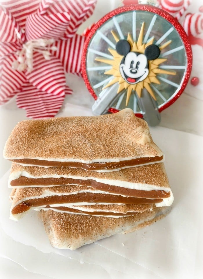 Disneyland Churro Toffee Recipe