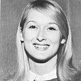 Meryl was too cute in her yearbook picture. Source: Seth Poppel/Yearbook Library