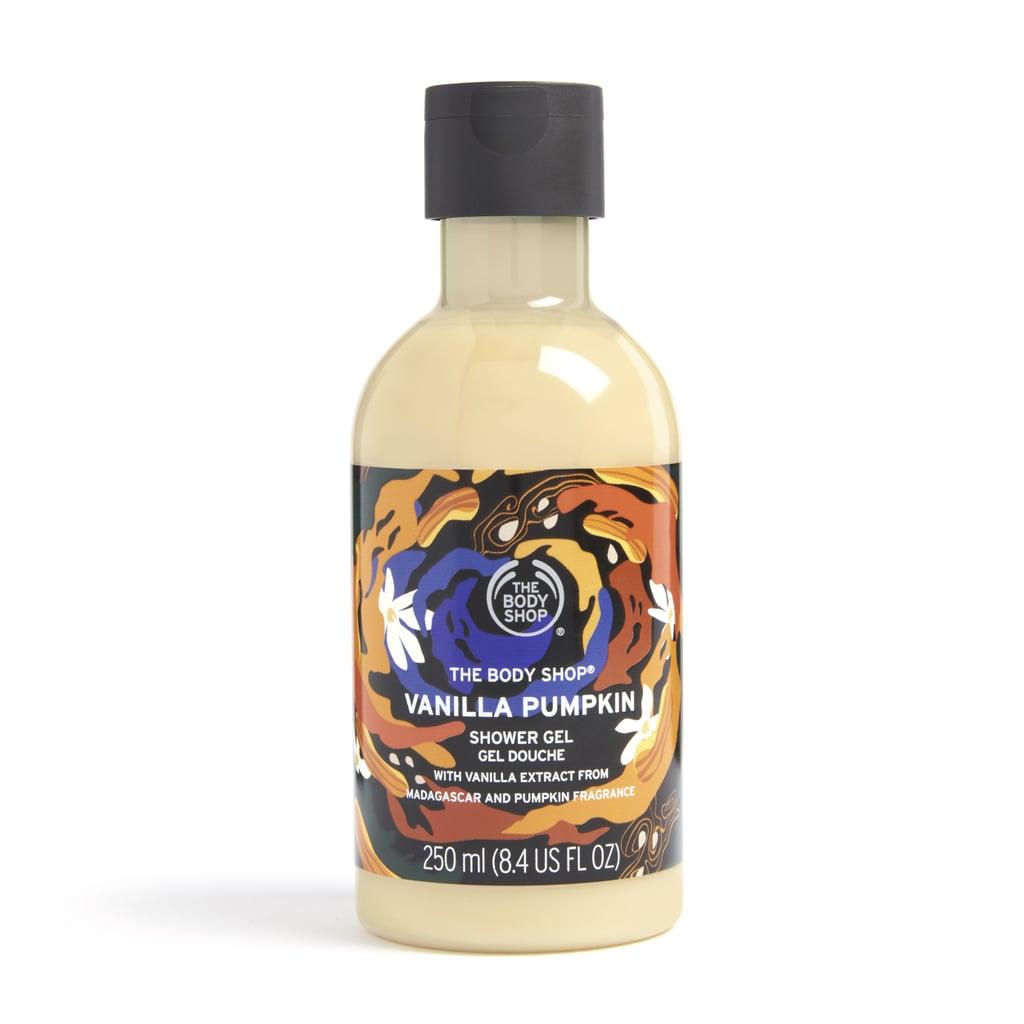 The Body Shop Limited Edition Vanilla Pumpkin Shower Gel
