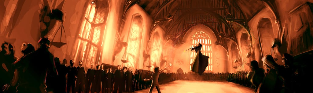 Final Fight Scene of Deathly Hallows