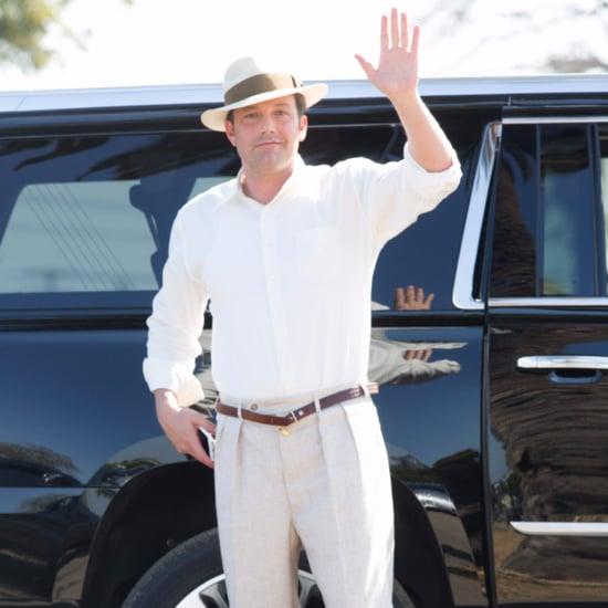 Ben Affleck on Set of Movie in LA June 2016