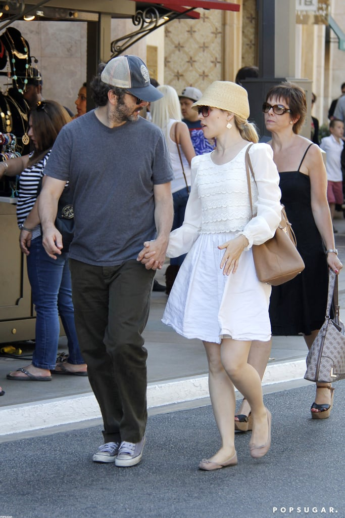 Rachel McAdams and Michael Sheen did their best to fit in with other shoppers at The Grove in LA yesterday. The couple held hands and chatted while browsing the windows and mingling with weekend moviegoers. Rachel and Michael are enjoying a break from work obligations before promoting movies later this year. Rachel's heading to the Venice Film Festival next month for her To the Wonder, and hopefully she'll be joined in Italy by her onscreen love interest Ben Affleck. As for Michael, he's prepping for what's sure to be a big global tour for Breaking Dawn Part 2. Michael's costars Robert Pattinson and Kristen Stewart are currently working out their personal relationship after Kristen was photographed kissing Rupert Sanders.