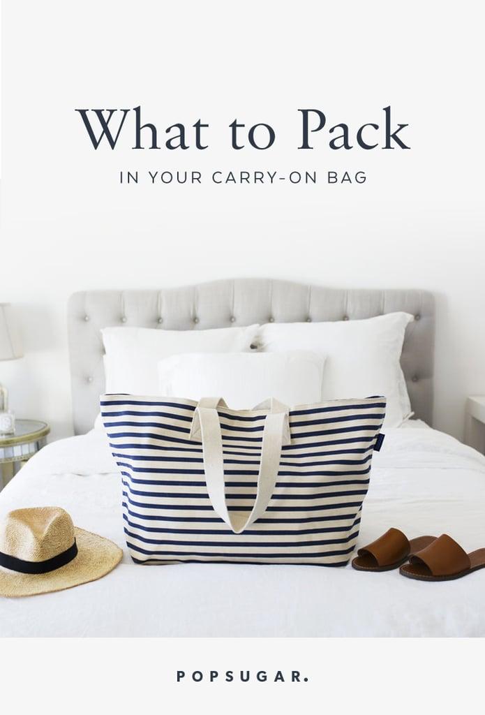 ماذا تحزمون في حقيبة سفركم المحمولة