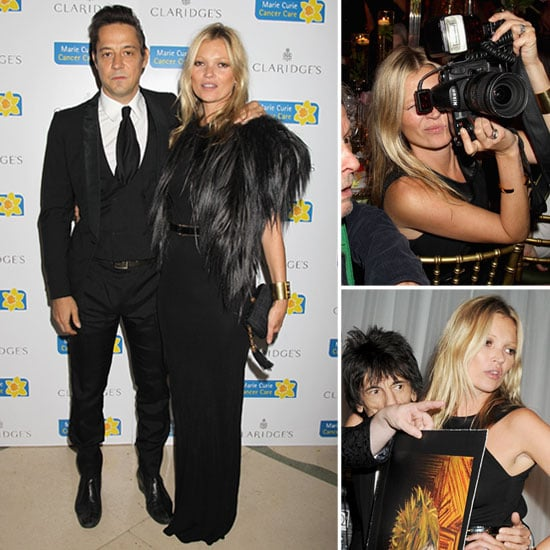 Kate Moss Gets Snap Happy at a Charity Event With Jamie