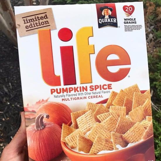 Quaker Life Pumpkin Spice Cereal