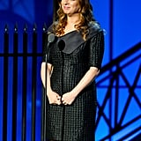 Maya Rudolph spoke at the Comedy Awards in NYC.