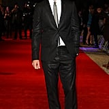 Justin looked debonair in a black suit and silver tie at the London premiere of In Time in 2011.
