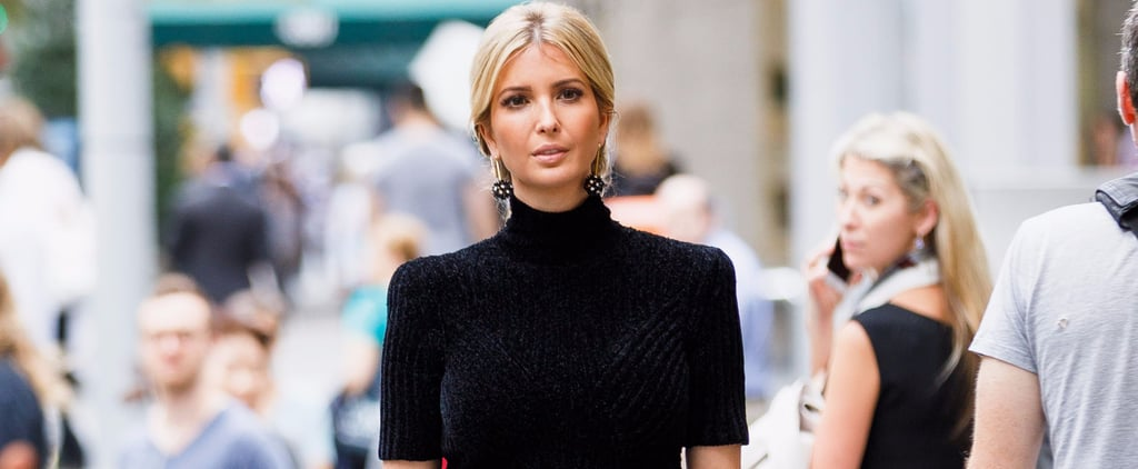 Ivanka Trump's Style Evolution Goes From All Things Glitter to a Little Bit of Shimmer