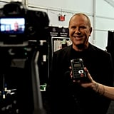 Michael Kors shared a backstage moment at NYFW. Source: Instagram user michaelkors