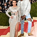 She and Kanye took the red carpet by storm at the Met Gala in May 2016.