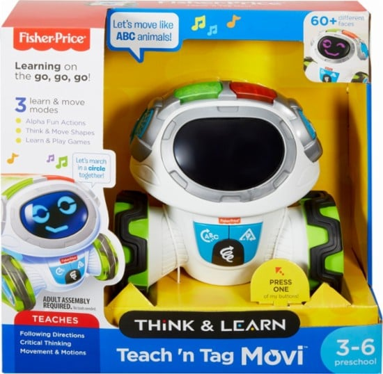 Fisher-Price Think & Learn Teach 'n Tag Movi