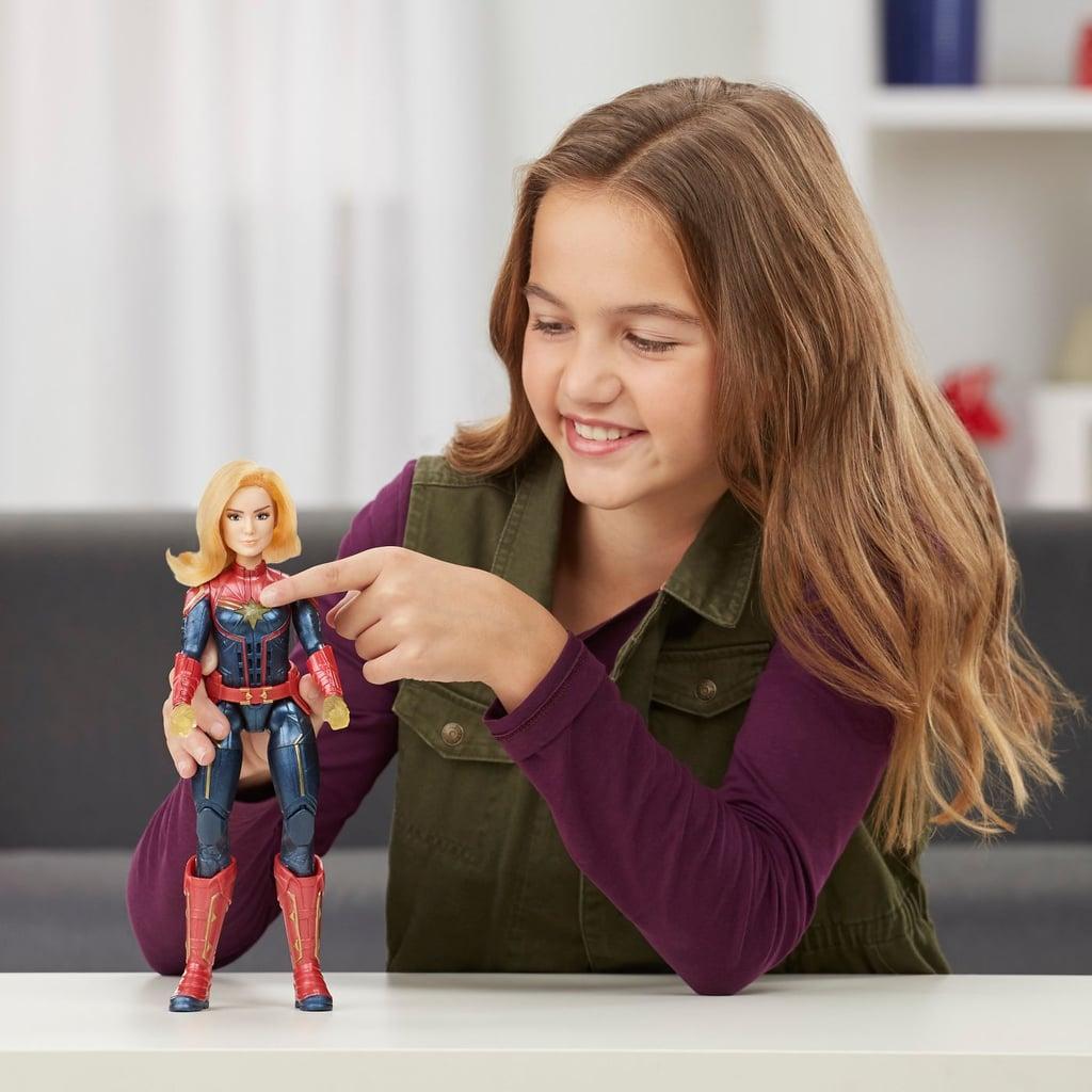 Captain Marvel Movie Photon Power FX Capitan Electronic Doll
