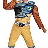 Power Rangers Costume Gold