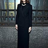 Mandy Moore at the Ralph Lauren New York Fashion Week Show