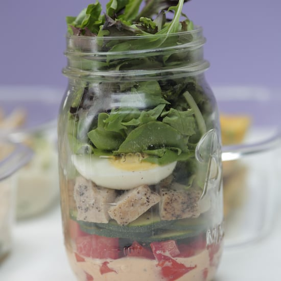 Mason Jar Chicken Salad