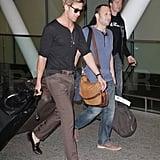 Ryan Gosling landed in Toronto.