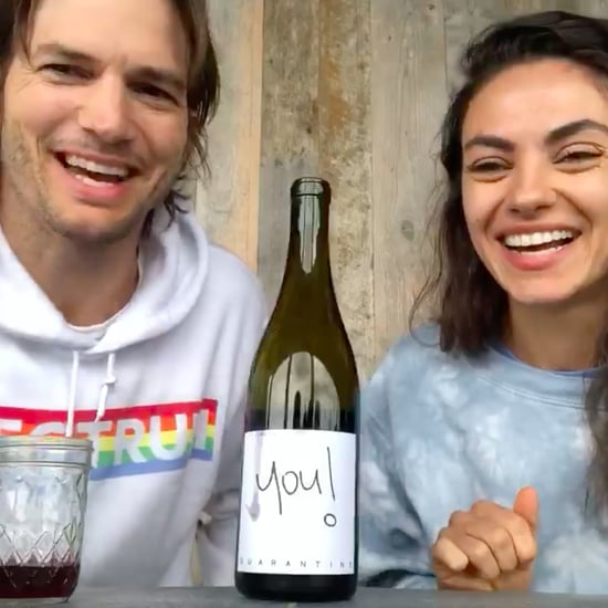 Ashton Kutcher and Mila Kunis Release Quarantine Wine