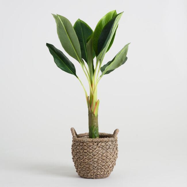 Faux Single-Stalk Banana Tree