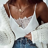 Joint Sexy Vest Lace Cami