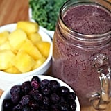 Kale Blueberry Pineapple Smoothie