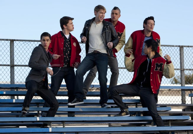 Glee Grease Pictures